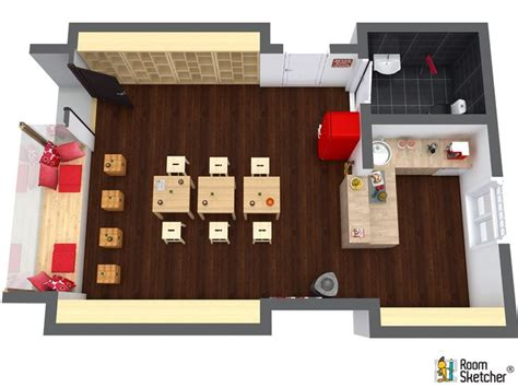 17 best images about 2d and 3d floor plan design on 17 best images about commercial design with roomsketcher