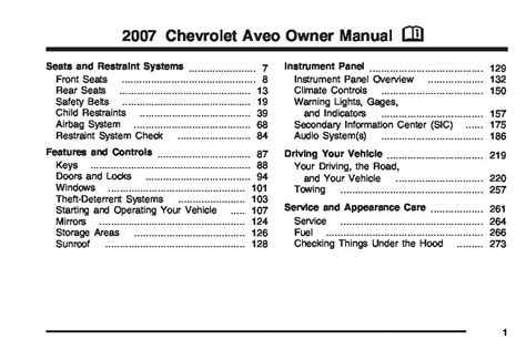 service manuals schematics 2011 chevrolet aveo electronic valve timing 2007 chevrolet aveo owners manual just give me the damn manual