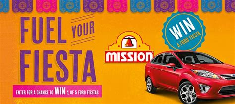 Mission Foods Sweepstakes - mission foods launches quot fuel your fiesta quot sweepstakes deli market news