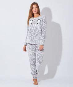pyjama 3 pi 232 ces veste toucher polaire oreilles de chat