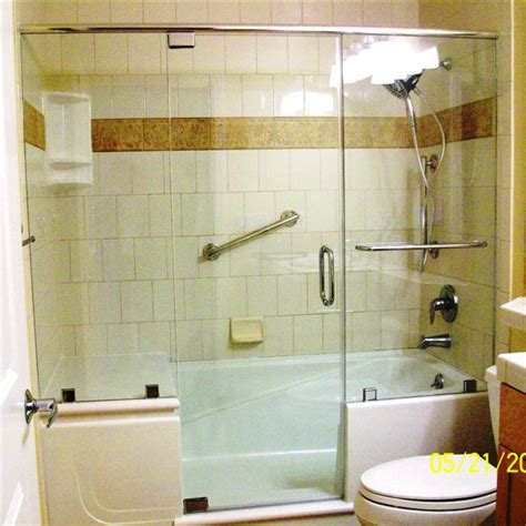 Walk In Bathtub With Shower by E Z Step Bathtub To Walk In Shower Conversion Traditional Other Metro By Steve Foose