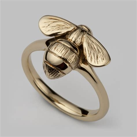 Rin Bee by Quality Bumblebee Ring Yellow Gold Stephen Einhorn