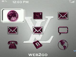 Back Lv Blackberry 9800 louisvuitton pink for 85xx themes free blackberry themes