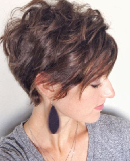 short curly hairstyles with high back cut short haircuts for curly hair