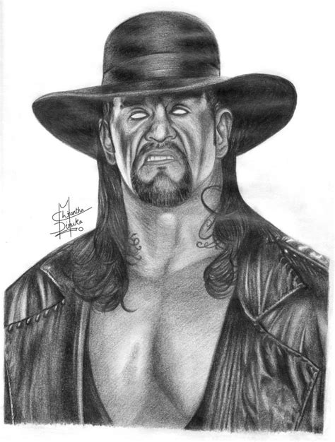 Drawing G by The Undertaker Pencil Drawing By Chirantha On Deviantart