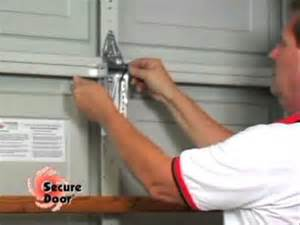 Garage Door Vertical Brace Installation Vertical Bracing System Garage Door