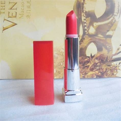 Lipstik Maybelline Rebel Bouquet maybelline color sensational rebel bouquet reb04 lipstick review