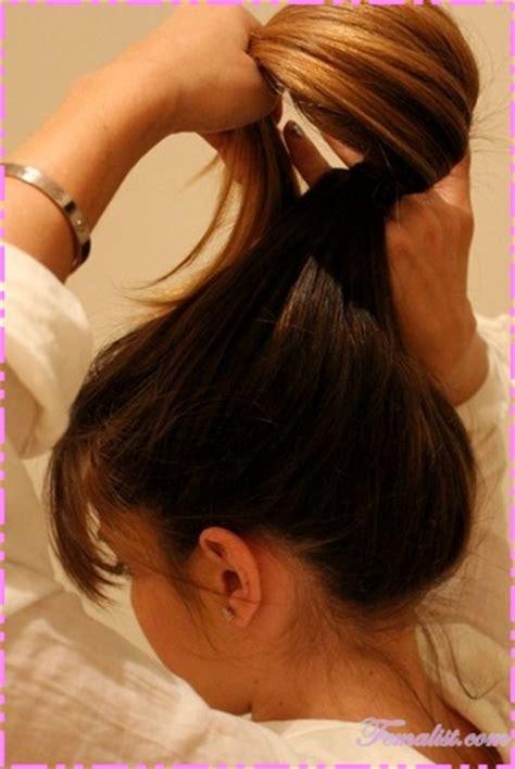cara membuat sanggul pramugari berambut pendek cara buat rambut model pramugari sanggul sendiri cara