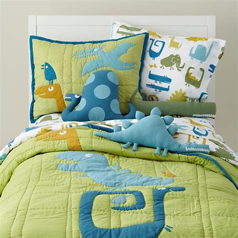 land of nod toddler bedding kids bedding kids dinosaur bedding comforter set the