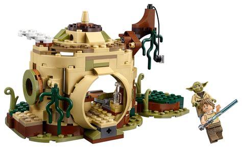 hutte wars lego wars 75208 pas cher la hutte de yoda