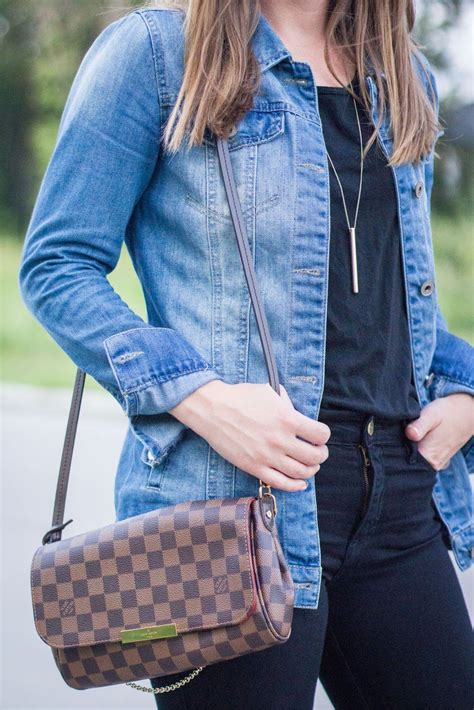 louis vuitton favorite mm bag frame denim jeans outfit