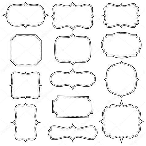 frames vector free marcos vintage vector de stock 59869405 depositphotos