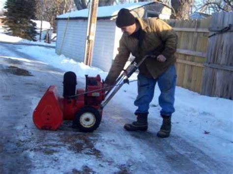 toro 521 snow blower youtube