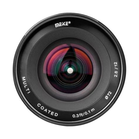Lensa Kamera Mirrorless Ultra Wide Meike 12mm 12 F2 8 For Sony E Mount meike 12mm aps c f2 8 ultra wide gudang digital