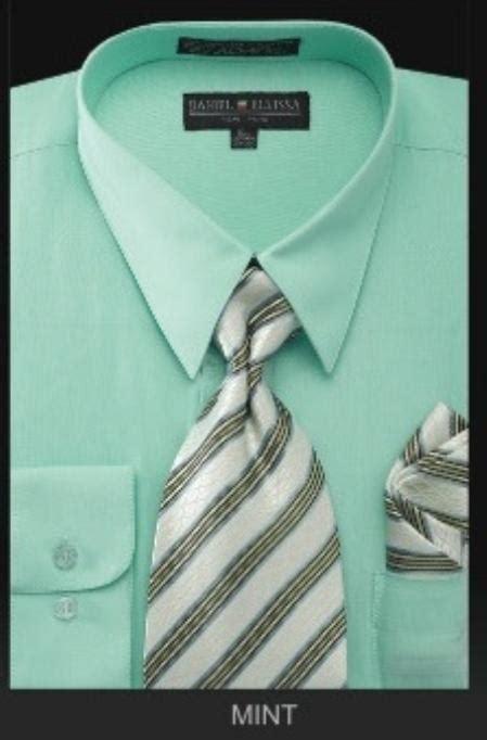 s dress shirt premium tie mint green lime