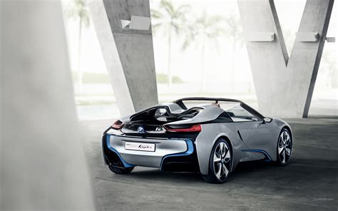 Pictures Of Bmw I8 by Bmw I8 Spyder Wallpapers Images Photos Pictures Backgrounds