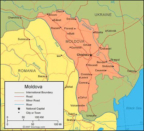 moldova map moldova map and satellite image