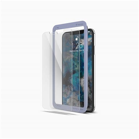 iphone xs max tempered glass screen protector caseology