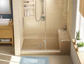 redi base shower pan and bench 30 x 60 center drain