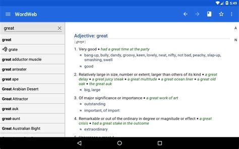 dictionary wordweb v app apk mirror