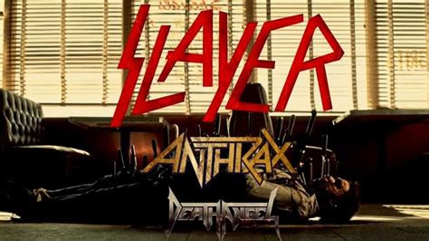 Slayer With Anthrax Live At The Wilma 101316 slayer announce american quot repentless tour quot digital tour