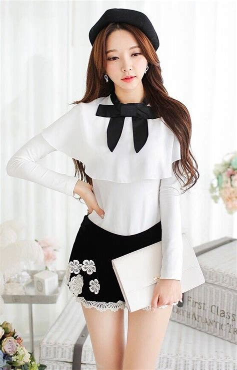 Browny Korean Bow White 167 best park soo yeon images on shopping center shopping mall and korean fashion