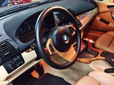 decorar interior auto vinilo madera para el interior del bmw x5