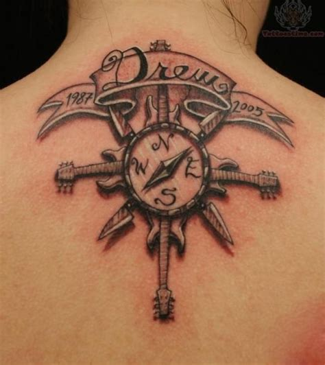 compass tattoo back neck 20 awesome compass tattoo ideas for creative juice