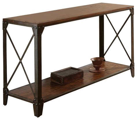 Fcenter Sofa 211 Orchid Jabodetabek winston sofa table distressed tobacco traditional console tables by beyond stores