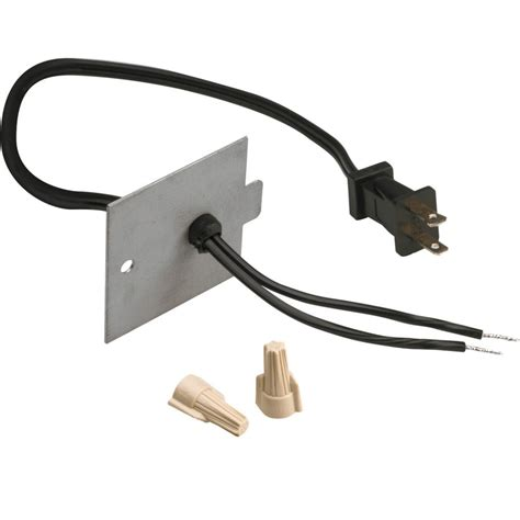 Fireplace Plugs by Dimplex 120 Volt Built In Electric Fireplace Kit