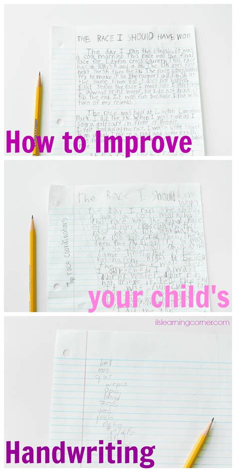 Motor Skills Handwriting Worksheets by Handwriting Results Show Importance Of Child S Motor