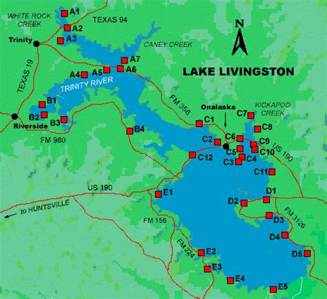 access to lake livingston