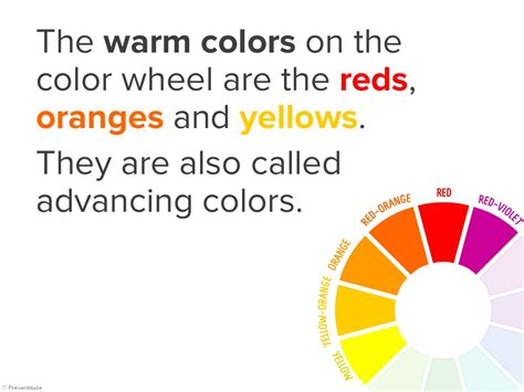 warm colors exle