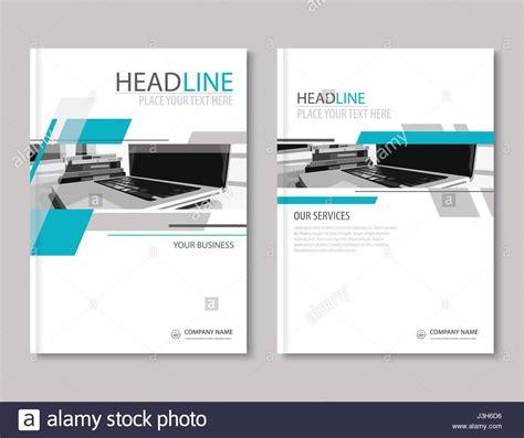 flat design company profile annual report brochure flyer design template company