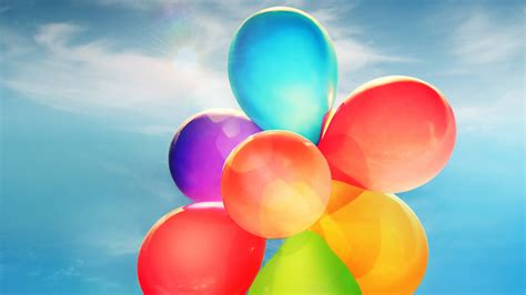 colorful balloons colorful balloons wallpapers hd wallpapers id 13978
