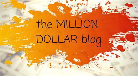 the million dollar blog 0349414068 the million dollar blog imok web development graphics design internet marketing