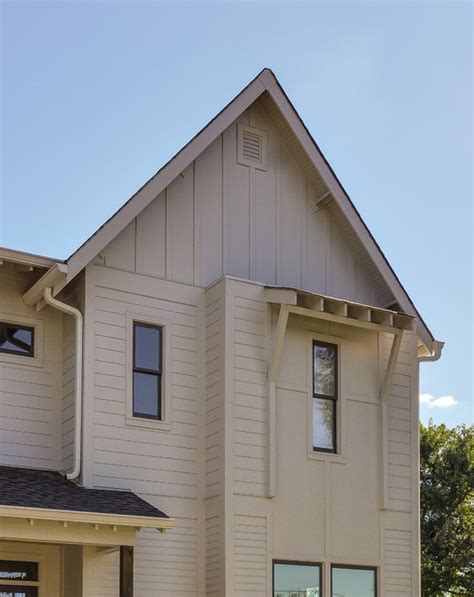 Sherwin Williams Black Bean urban farmhouse eaves
