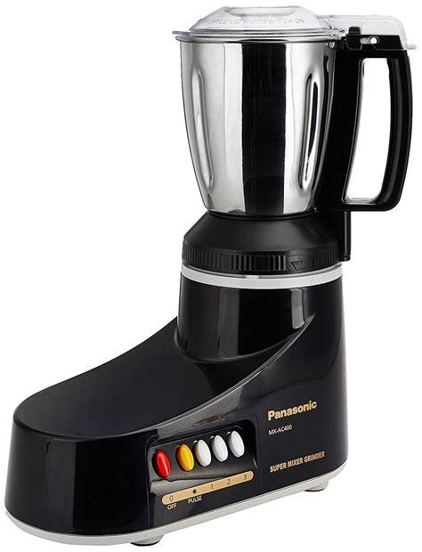 Panasonic Blender Mixer Grinder Mx Ac400 Diskon buy panasonic mx ac400 550 watt 4 jar mixer grinder black at low prices in india