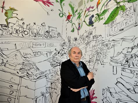quentin blake in the quentin blake opens house of illustration gallery in london news culture the independent