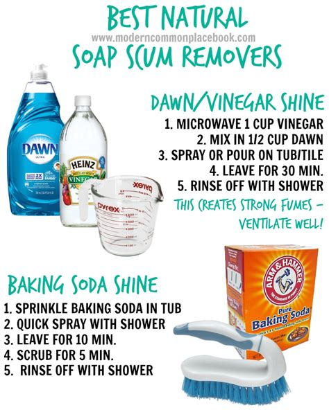 Best Cleaner For Bathtub Soap Scum by Tip Of The Week Soap Scum Removers A Modern Commonplace Book