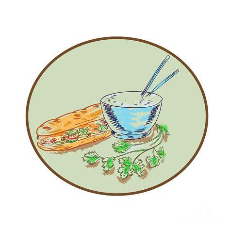 Bowl Of Rice Drawing