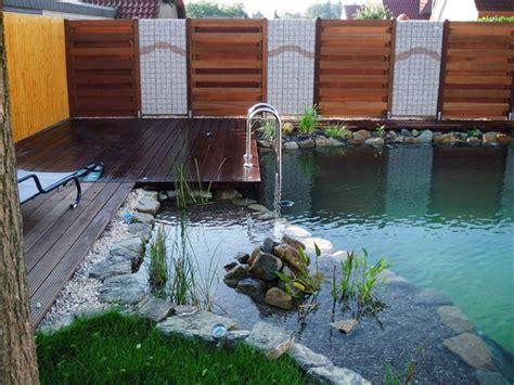 Schwimmteich Mit Fischen by Schwimmteich Teichtechnik Stipp Gartenteich