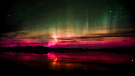 northern lights sun l northern lights and red sunset wallpapers and images