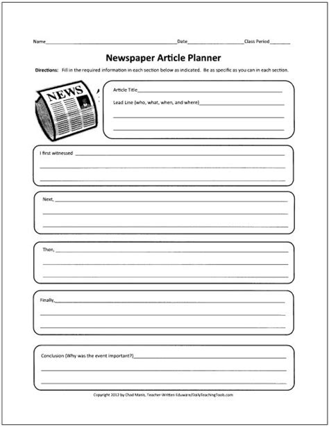 best 25 newspaper article template ideas on pinterest