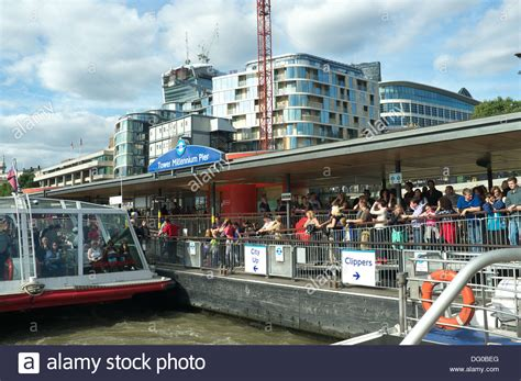 river thames boat services london tower millennium pier on the river thames it is operated