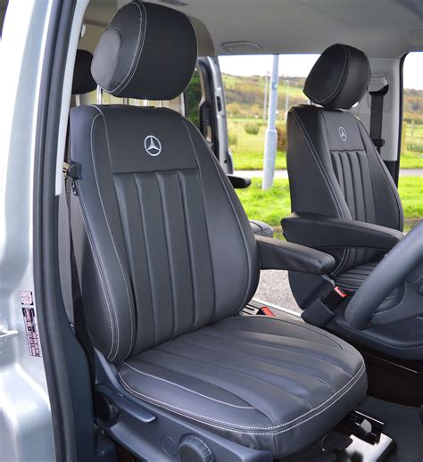 van seat upholstery mercedes benz vito w447 tailored van seat covers with