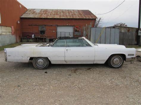 1966 Cadillac Parts by 1966 Cadillac Convertible Project Or Parts Car