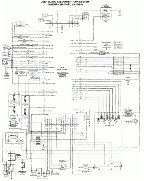 2005 jeep grand pcm wiring diagram wiring