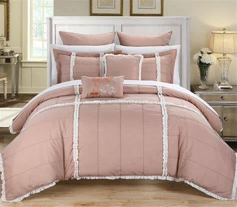 total fab peach colored comforters bedding sets