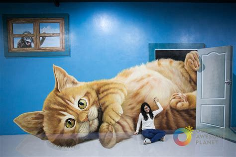Dolphin Wall Mural interactive 3d art museum in philippines lets you take a